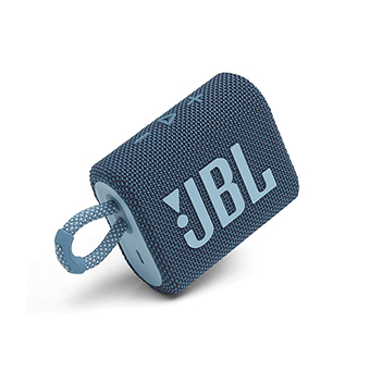 ลำโพงพกพา JBL GO 3 Portable Waterproof Speaker (Blue)