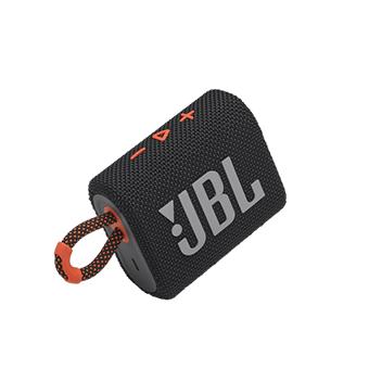ลำโพงพกพา JBL GO 3 Portable Waterproof Speaker (Black/Orange)