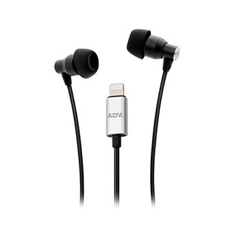 หูฟังหัวไลท์นิ่ง ADV. 911 Hi-fi Lightning Earphones for Iphone