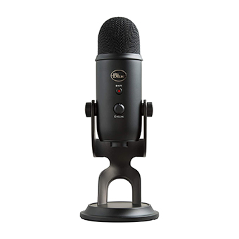 ไมโครโฟน Blue YETI Microphone (Blackout)