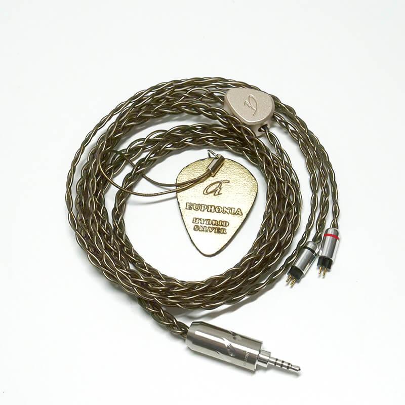 สายอัพเกรด Ariane Audio Euphonia, Hybrid Silver Plated Copper (2PIN) Pre-Order