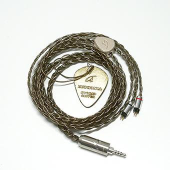 สายอัพเกรด Ariane Audio Euphonia, Hybrid Silver Plated Copper (2PIN)