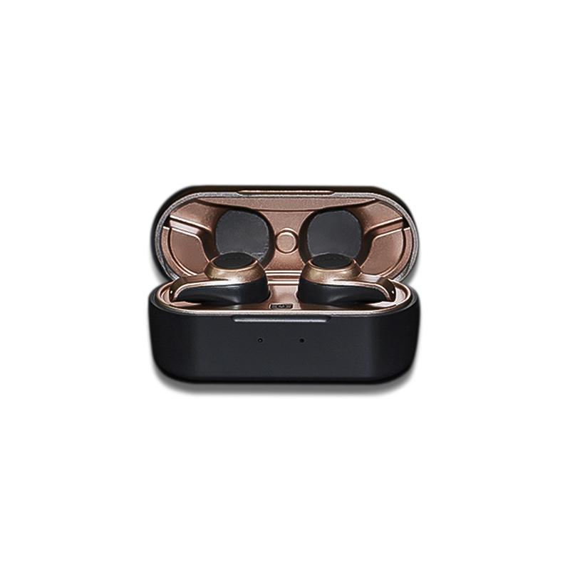 หูฟัง Jabees Firefly Vintage - Bluetooth 5.2 Wireless Gaming Earbuds Featuring atpX & Noise Cancellation (ฺBRONZE)