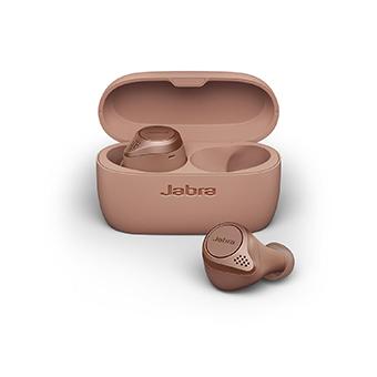 หูฟังไร้สาย Jabra Elite Active 75t True Wireless Earbuds Waterproof IP57 (Sienna)