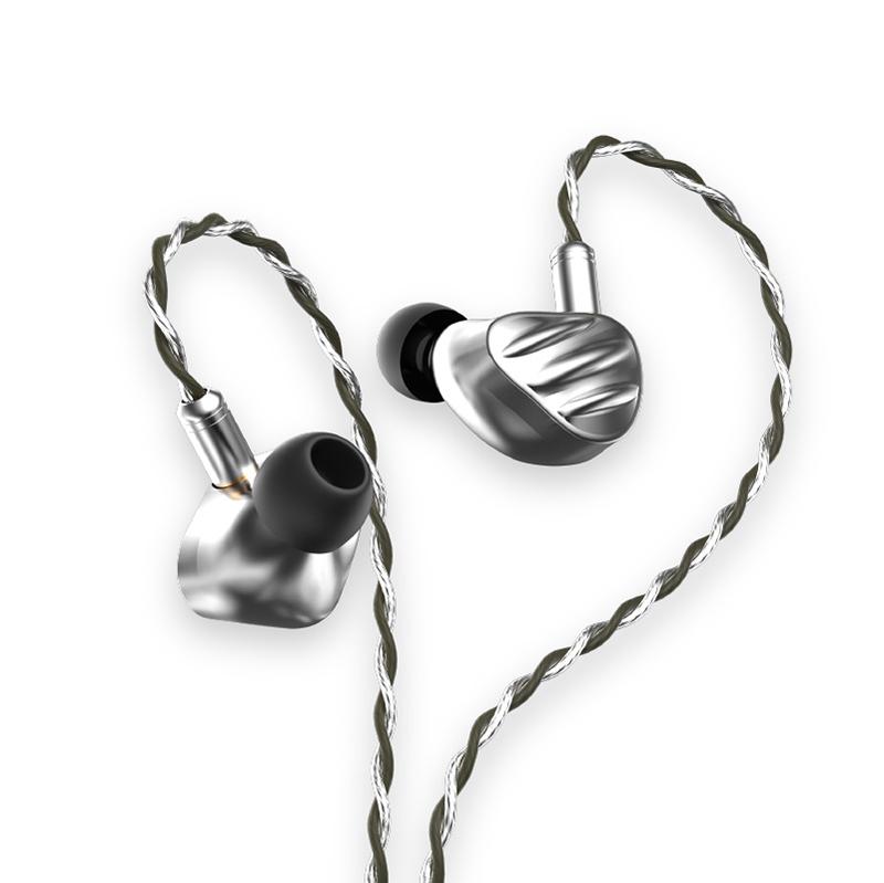 หูฟัง BGVP รุ่น NS9 Knowles Sonion 7BA+2DD Custom 9 Drivers (Silver)