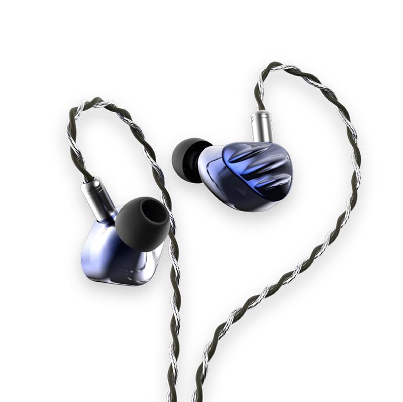 หูฟัง BGVP รุ่น NS9 Knowles Sonion 7BA+2DD Custom 9 Drivers (Blue)