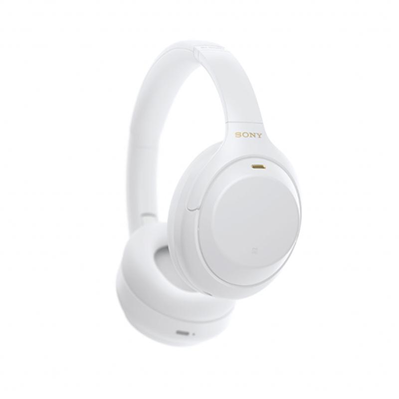 หูฟัง Sony WH-1000XM4 Noise-Canceling Headphone (Silent White Limited Edition)