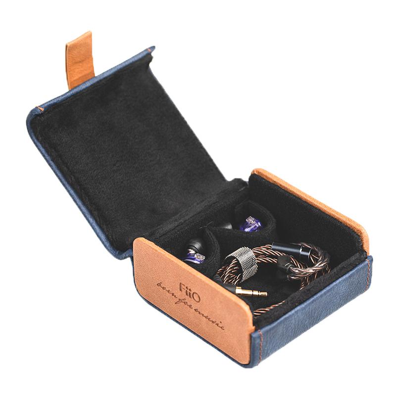 FiiO HB5 กล่องคุณภาพสูง ใช้เก็บหูฟัง พกพาสะดวกมีแม่เหล็กใช้ในการปิดฝา