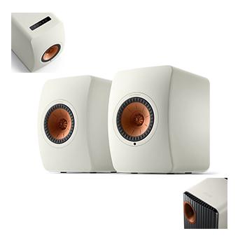 ลำโพง KEF รุ่น LS50 Wireless II (White)