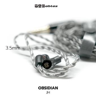 Tacables Obsidian สายอัพเกรดหูฟัง JH / 3.5mm