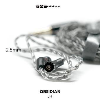 Tacables Obsidian สายอัพเกรดหูฟัง JH / 2.5mm