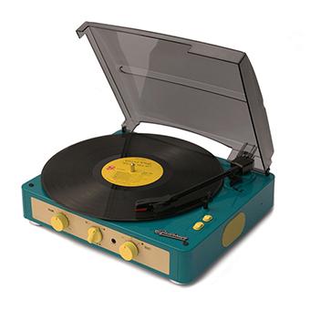เครื่องเล่นแผ่นเสียง Gadhouse Brad Retro ( Color : Green )