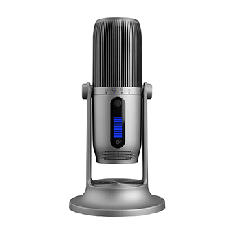 Thronmax MDrill One Pro digital USB microphones. (Silver)