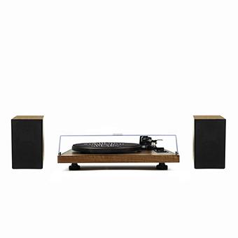 Gadhouse HENRY Hi-fi Turntable with Bookshelf speakers