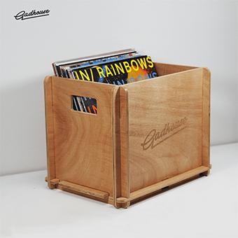 GADHOUSE Vinyl Storage Crate