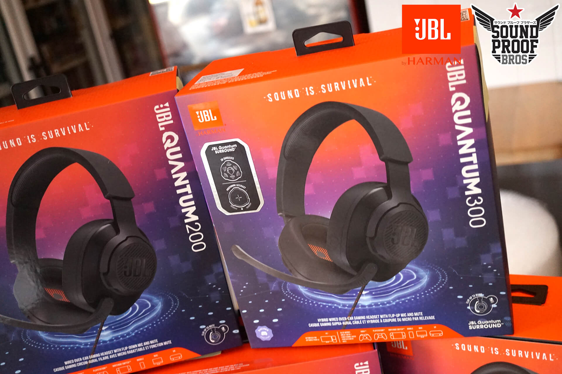 หูฟัง JBL Quantum Gaming HEADSET