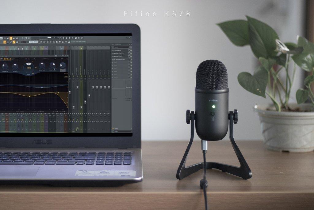 ไมค์ Fifine K678 USB Microphones